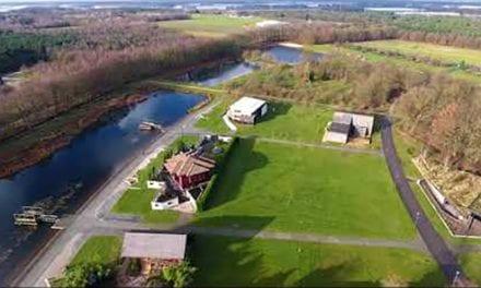 Floriadeterrein Venlo vanuit de lucht