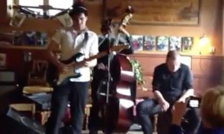 Dan Vanhoudt live in cafe Salden in Limbricht
