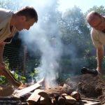 Eeuwenoude kooktechiek: in een gat koken