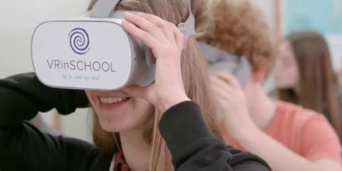 VR in Limburgs onderwijs maakt indruk